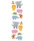Sticker Sheets Jungle Animals Pkg/3