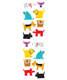 Sticker Sheets Chubby Dogs Pkg/3