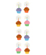 Sticker Sheets Sparkle Cupcakes Pkg/2