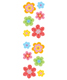 Sticker Sheets Sparkle Flowers Pkg/2
