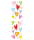 Sticker Sheets Sparkle Hearts Pkg/2