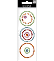 Circles Rhinestone Sticker