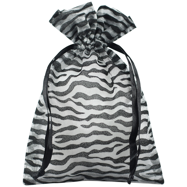 Zebra Sheer Sack