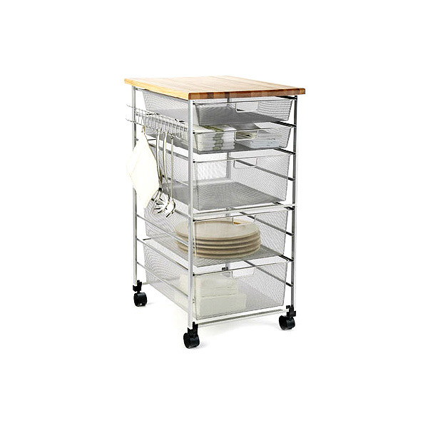 Platinum Kitchen Cart