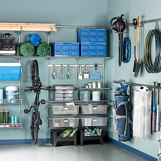 Platinum Garage Shelving