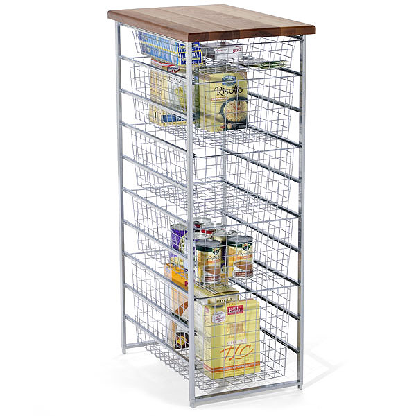 Platinum elfa Pantry Storage