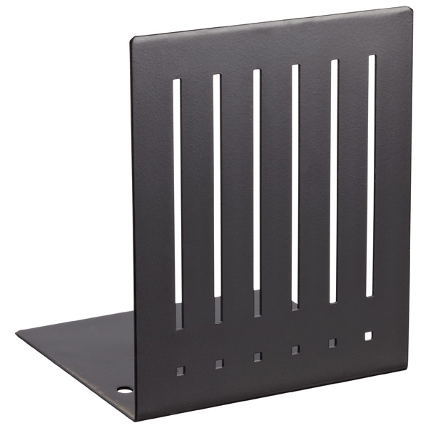 Mod Bookends Black Pkg/2