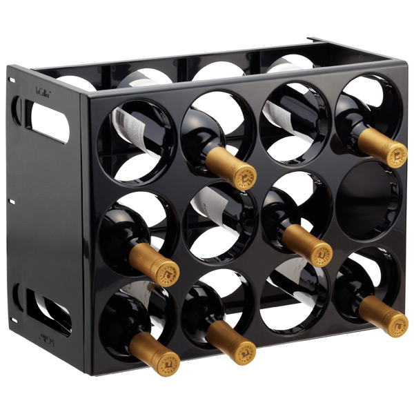 Le Cellier Wine Rack Black