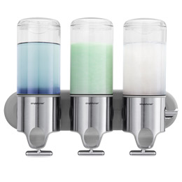 simplehuman Shampoo & Soap Dispensers