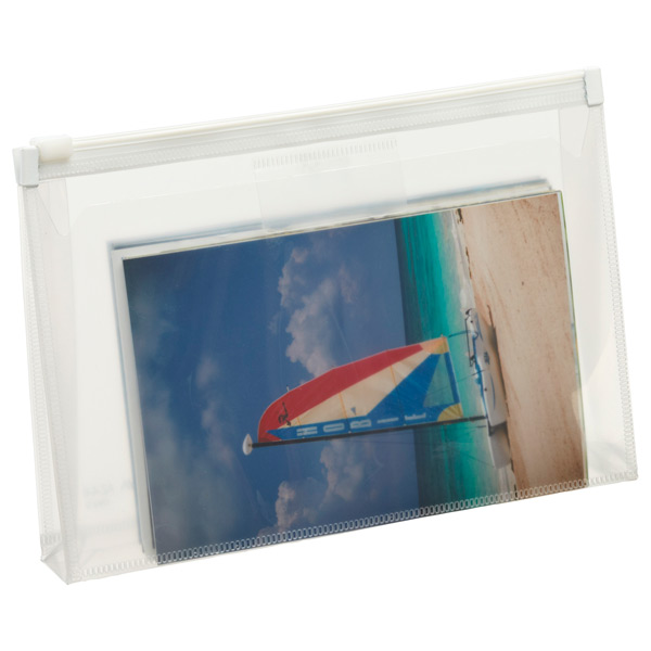 Zippered Envelope Clear