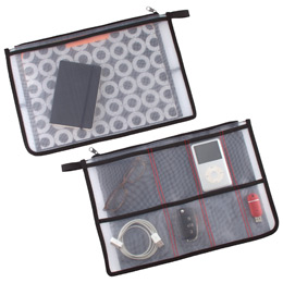 gio organizer pouch the container store. Black Bedroom Furniture Sets. Home Design Ideas