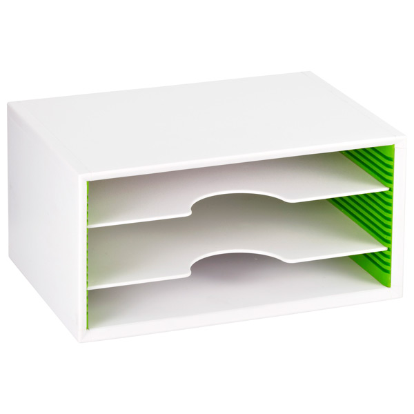 Small Adjustable Paper Sorters White