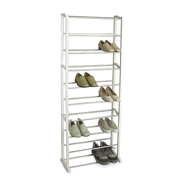 30-Pair Shoe Rack