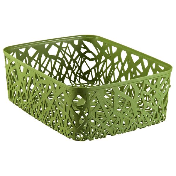 Rectangular Neo Bin Green