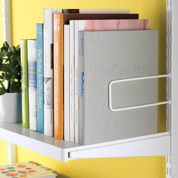 White elfa décor Shelves