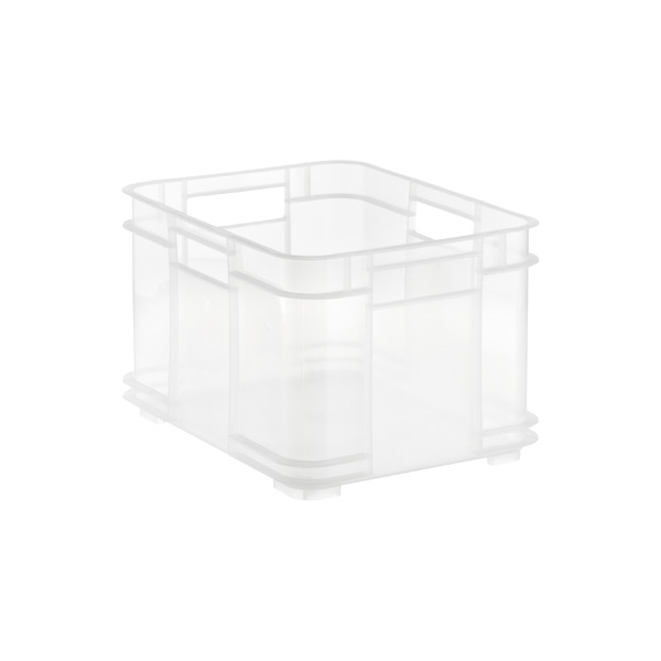 Small European Commercial Crate Translucent