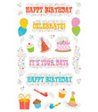 Party Reflection Stickers