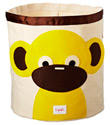 Monkey Canvas Bin