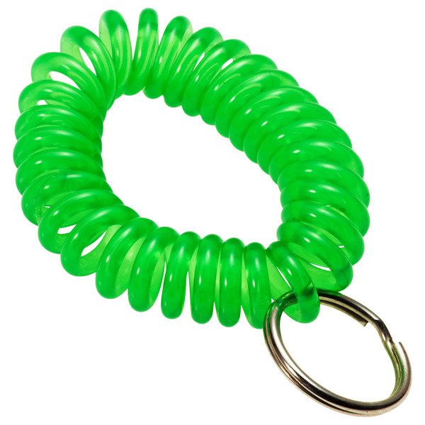 KeyCoil Wrist Chain Green