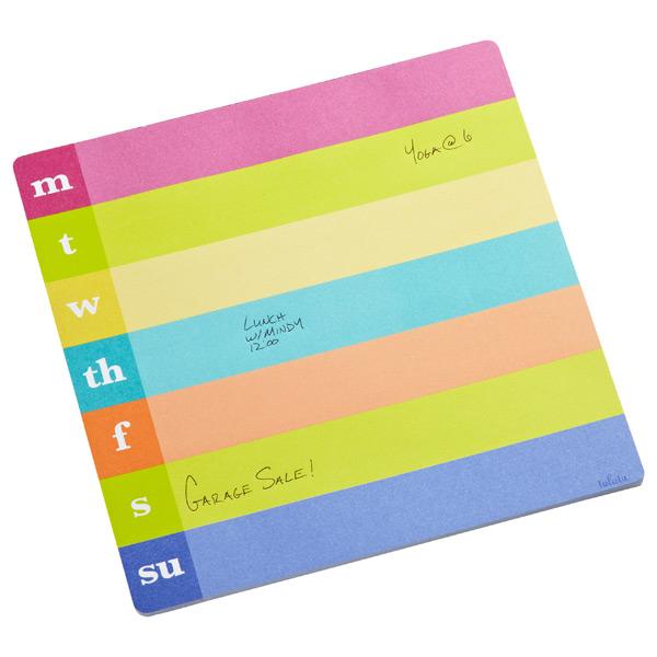 Lulalu® Weekly Notepad