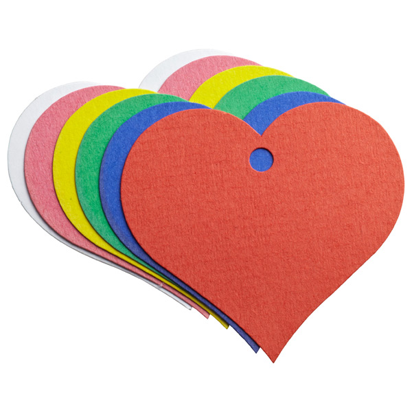 Tag-It Gift Tags Assorted Hearts Pkg/6
