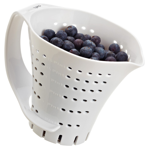 Measuring Colander White