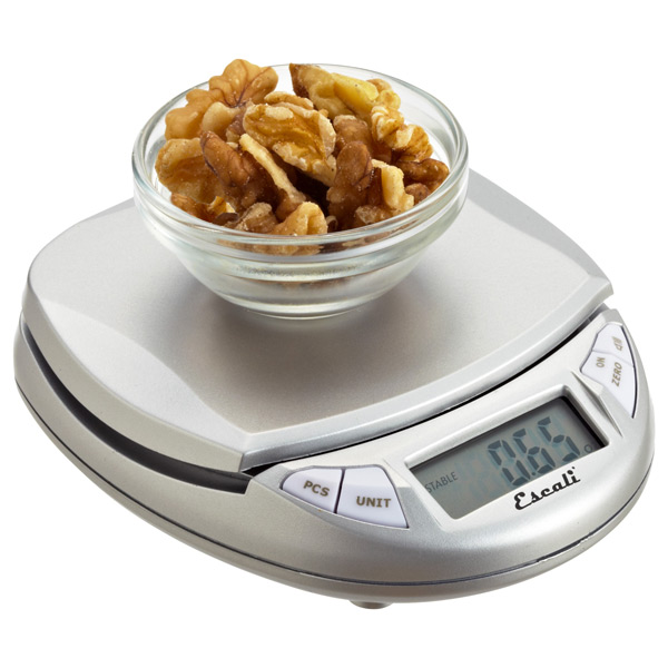Pocket Digital Kitchen Scale Silver