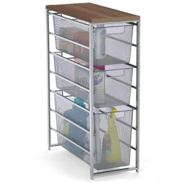 elfa Mesh Laundry Storage Platinum