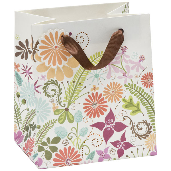 Floral Terrain Gift Tote