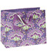 Medium Good Fortune Fan Flower Tote Purple
