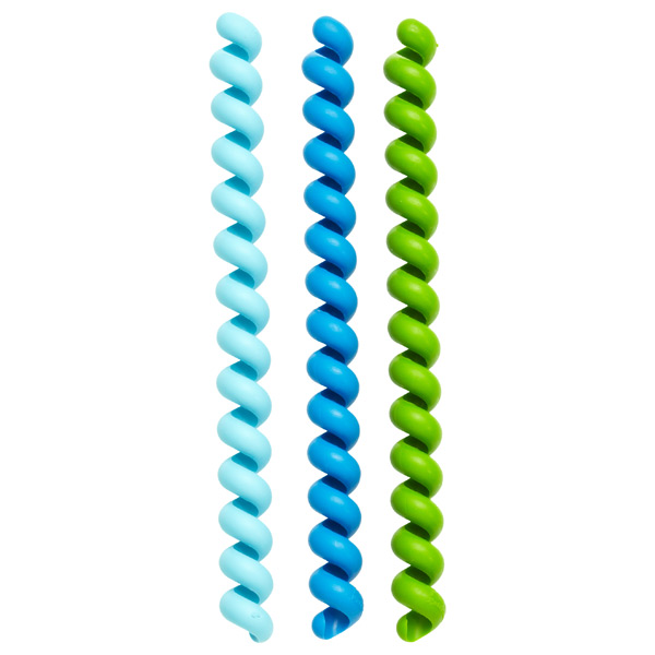 Cable Twisters Blue & Green Pkg/3