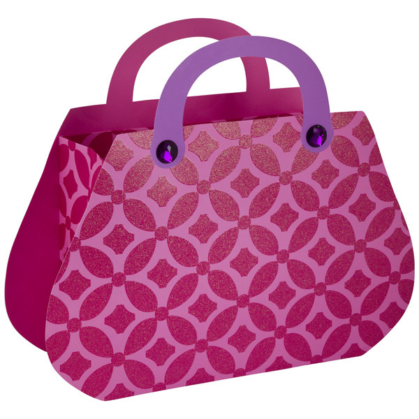 Medium Hand Toss Purses Tote Pink