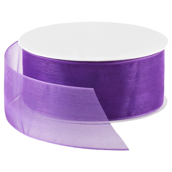Sheer Ribbon Regal Purple