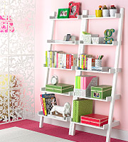 Linea Leaning Bookcase
