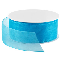 Robin's Egg Blue Sheer Ribbon