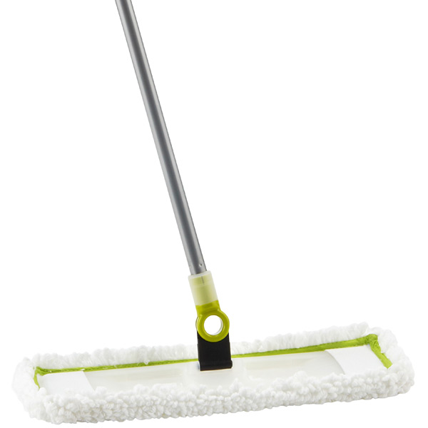 Lime Swivel-It Microfiber Floor Duster by Casabella