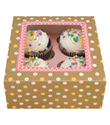 Candy Dot Spot Cupcake Box