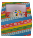 Party Stripe Cupcake Box