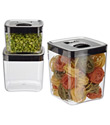 Click Clack® Cubes with Stainless Lids