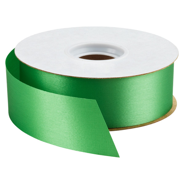 Bulk Satin Ribbon Christmas Green