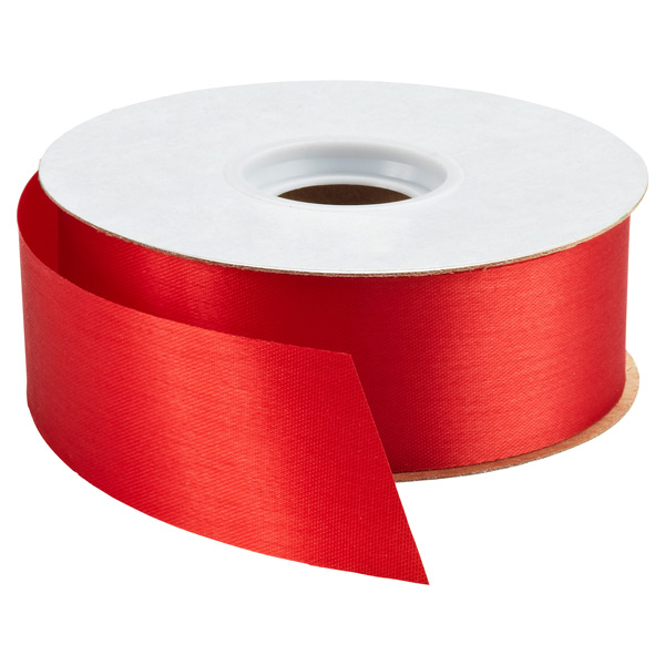 Bulk Satin Ribbon Red