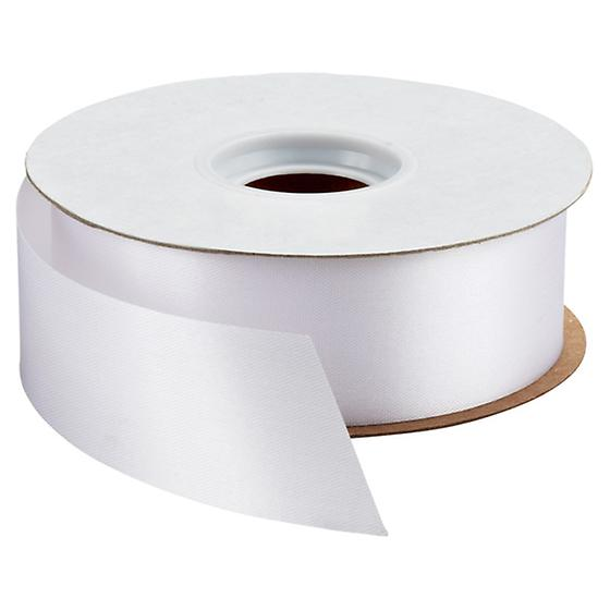 White Bulk Satin Ribbon