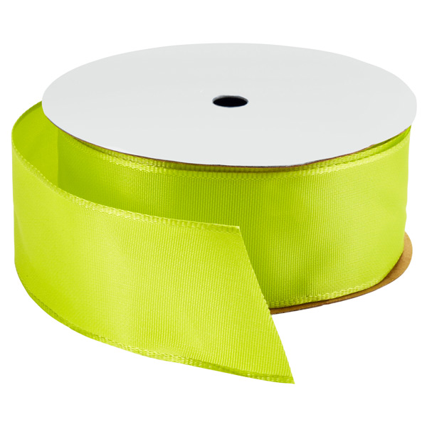 Wired Ribbon Bright Chartreuse