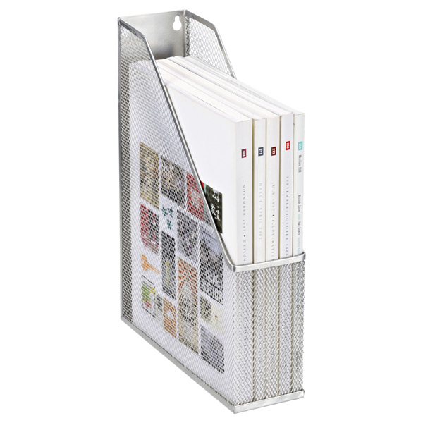 Mesh Magazine File Silver
