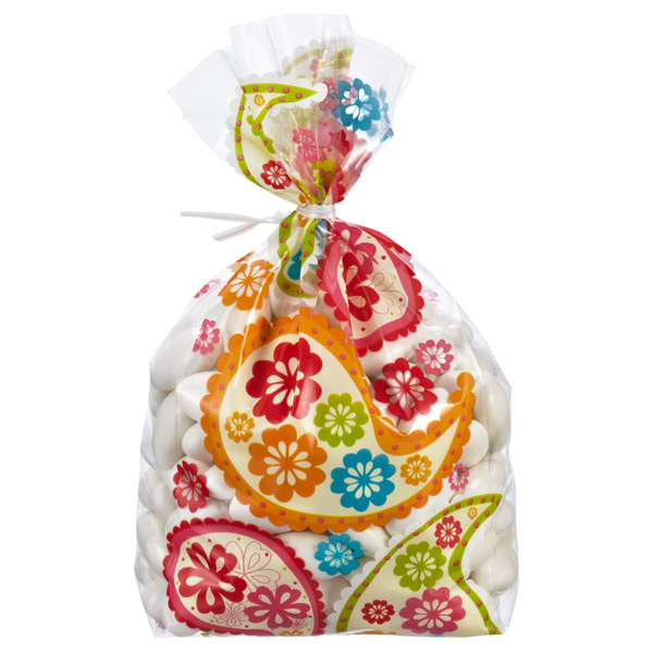 Birthday Paisley Cello Bags Pkg/8