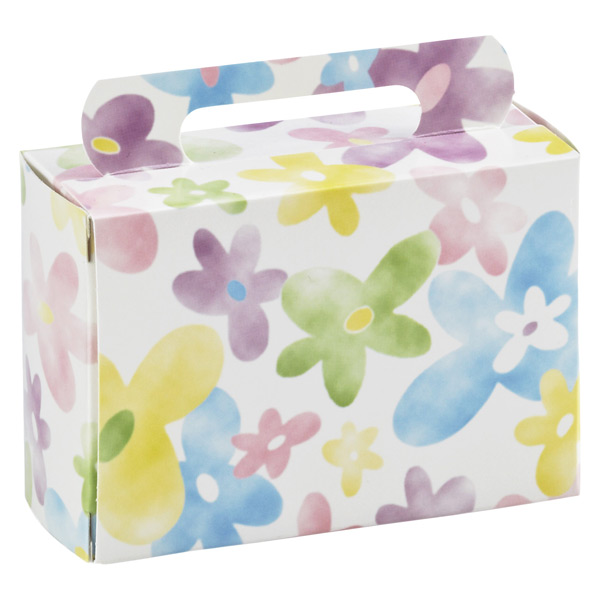 Tote Box Daisy Watercolor