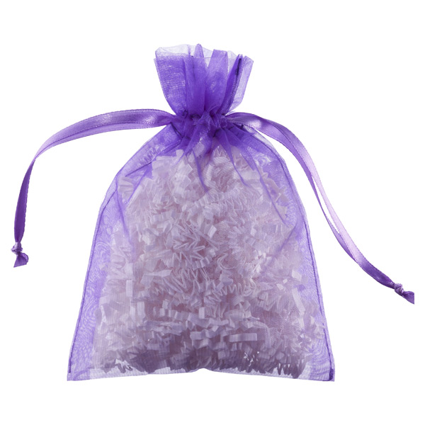 Organza Sacks Purple Pkg/6