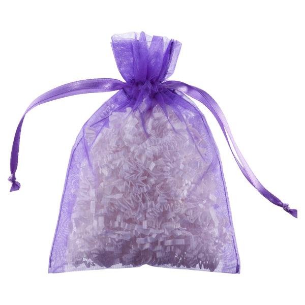 Organza Sacks Purple Pkg/6