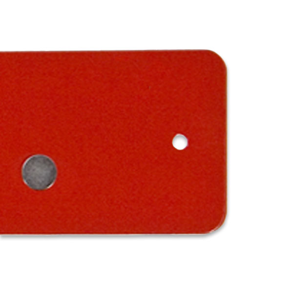 Mini Magnetic Strip Red