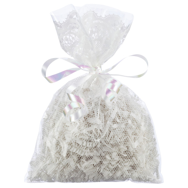White Lace Gift Sacks